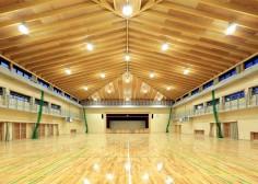 47・体育室北面